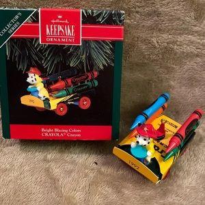 Hallmark 1992 ornament - Crayola Crayon